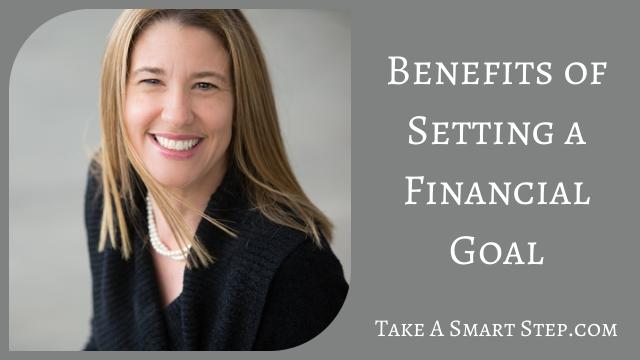benefits of financial goals
