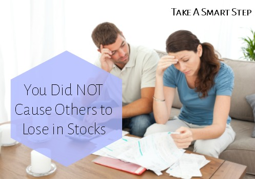 if i make money in stocks do others lose money