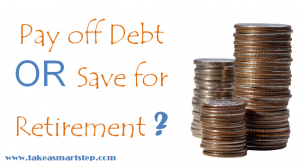 pay off debt or save